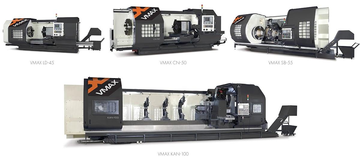 VMAX CNC Lathe Range